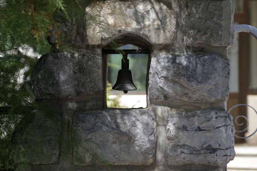 1610, Embrun, Frankreich Architecture Bell Bell Tower Day Embrun France History Old Outdoors Stone Stone - Material Stone Material Stone Wall