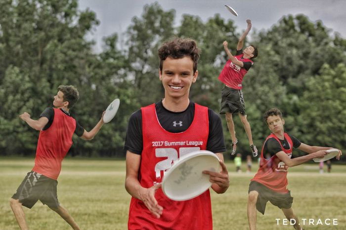 True Passion Frisbee Ultimate Frisbee Playing Sport Competition Outdoors Effort Skill  Sports Uniform Smiling Teamwork Photography Photooftheday
