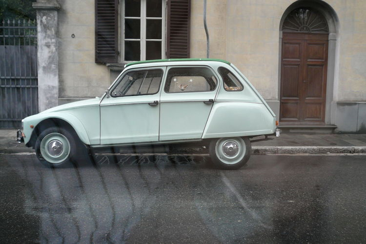 2007 Car Citroen Citroen Dyane Collector's Car Day Italy Mint Old-fashioned Parking Transportation