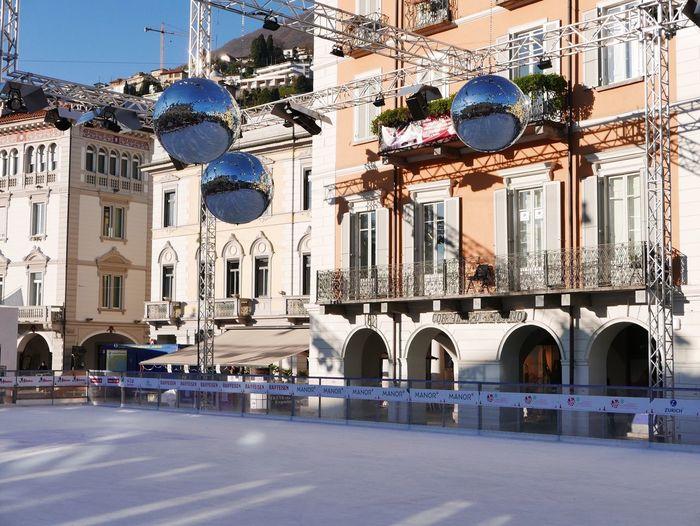 Ice Winter Wintertime City