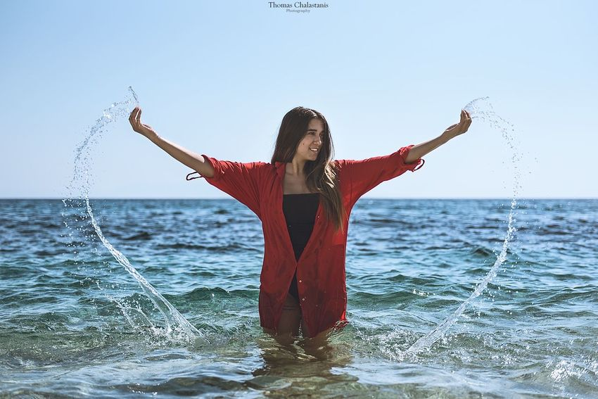 Mytilene Island Athens Weekend Beautiful Greece July Summer Summertime Sea Beauty In Nature Beach Fashion&love&beauty Beauty Women Play Playing Water Swimming Swimwear Swimsuit Fashion Fashion Photography Photography