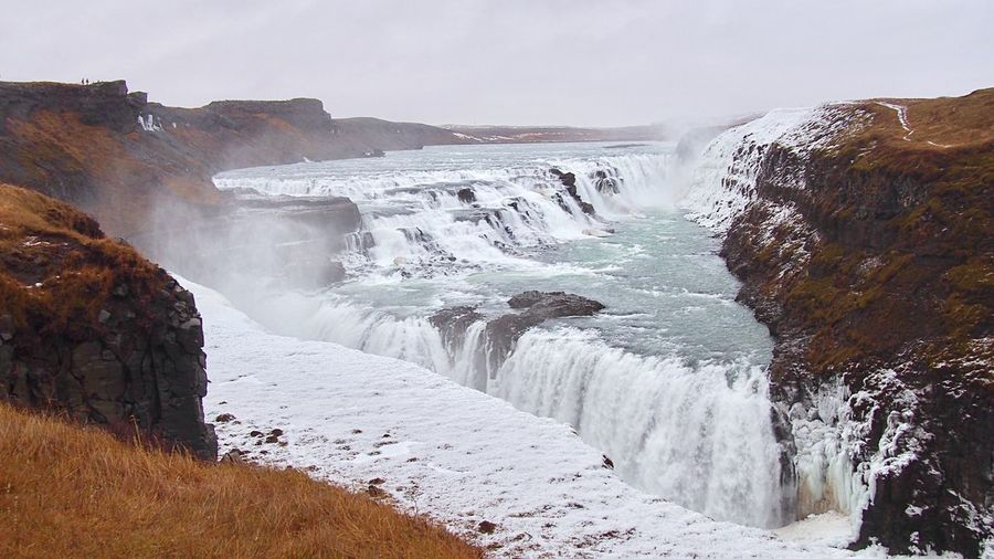 Gullfoss 🇮🇸 Golden Circle Iceland North Europe Europe Trip Iceland_collection Iceland Memories Iceland Trip Waterfall Waterfall_collection Cold Temperature Power In Nature Travel Destinations Outdoors EyeEm Nature Lover Spectacular Great View Landscape Nature_collection Enjoying The View Wonderful Day Emotional アイスランド ヨーロッパ 滝