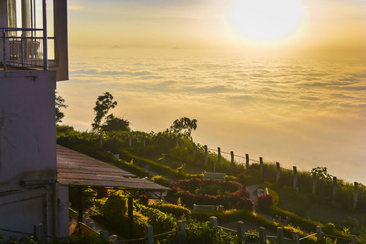 Sky Sunlight Nature Travel Destinations Outdoors Beauty In Nature Day Sunrise And Clouds Paradise On Earth Dreamhouse NandiHill