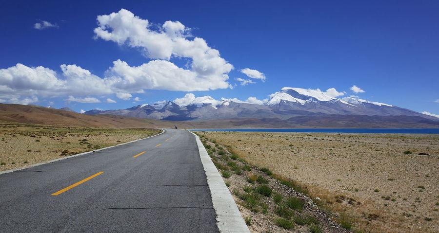 Road Landscape Sunny☀ Blue Sky