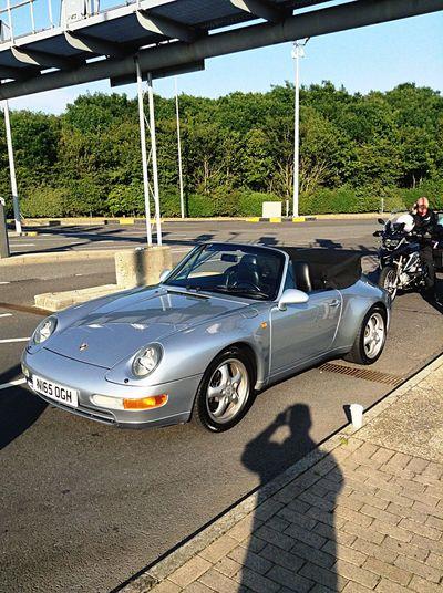 Superbe Porsche 993 cab from folkstone To paris Porsche 993 Cabrio