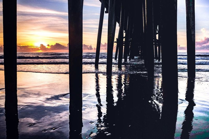 Sunset Water Sea Sky Beach Built Structure Pier Dock Outdoors No People Exceptional Photographs Instalike Relaxation Leading Welcome To Black Long Goodbye Art Is Everywhere BYOPaper! Live For The Story Live For The Story