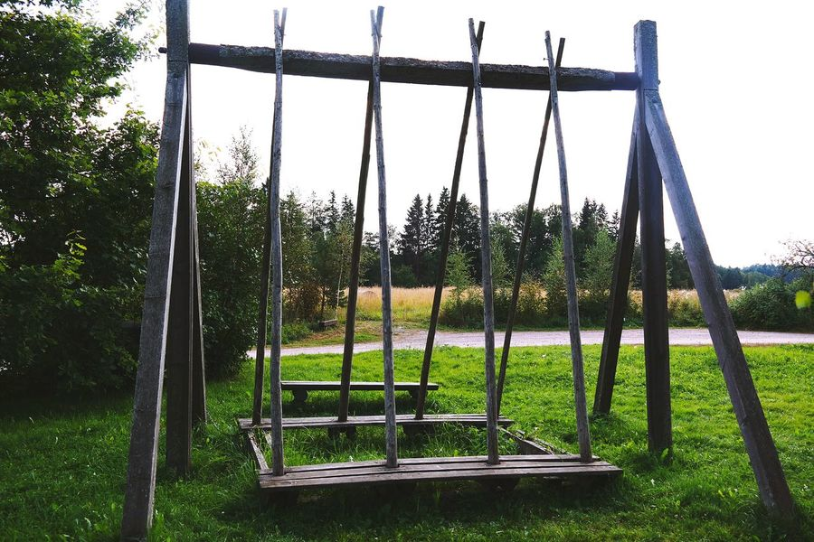Swing Swings Summertime Countryside Country Life Summer2015 Wooden Swing