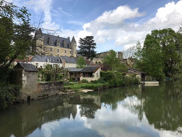 Village Photography Architecture_collection Landscape_photography Landscape EyeEm Best Shots - Nature Château EyeEm Best Shots Architecture Building Exterior Built Structure Building Cloud - Sky Water Tree Sky House Residential District Reflection Nature Day City No People Outdoors Lake Waterfront