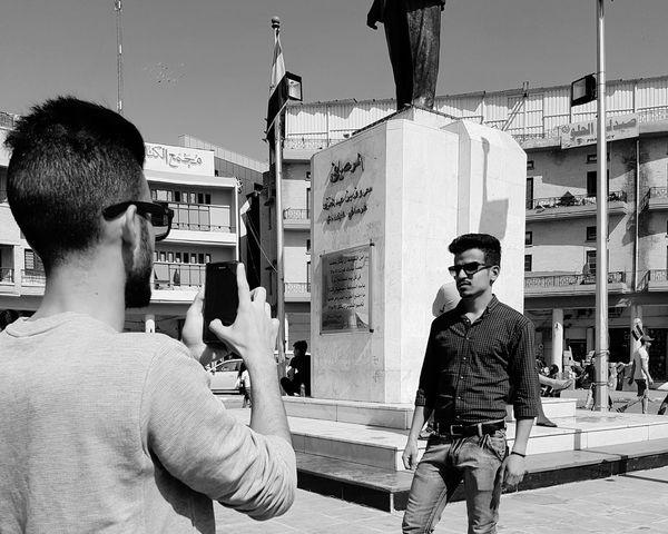 Baghdadi 🌸 Baghdad Streets Baghdad , Lraq