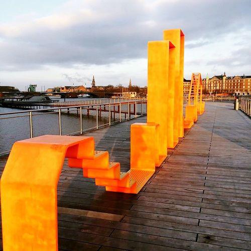 Shapes Kalvebodbrygge Copenhagen Denmark Colors Harbour