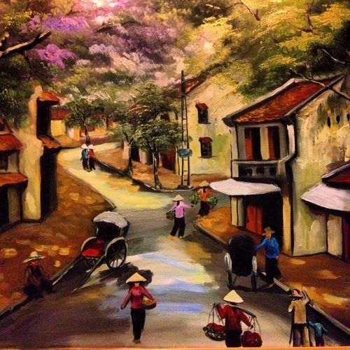 Village life Ha Long Bay Vietnam Indochina