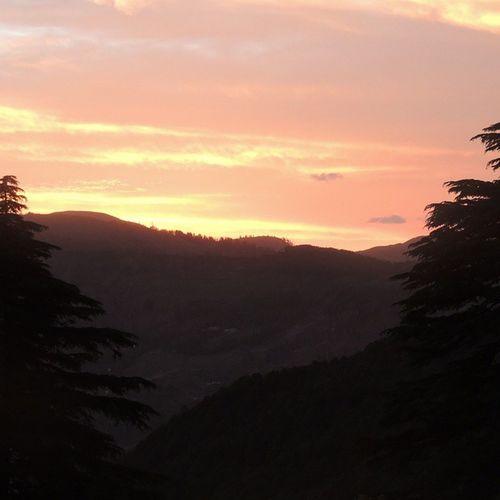 Patnitop_hills Sunset_pic Nikon nice_view instaclick instalike 👌👌