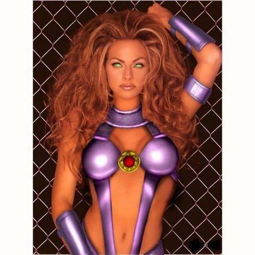 Estelar Estelar Novostitas s Teentitans Dccomics comics starfire hqs quadrinhos cosplay supergirls