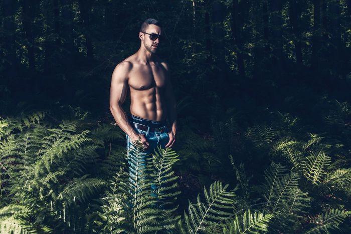Fitnessmodel Fabian B., McFit Malemodel  Fitness Fitnessaddict Body & Fitness Sixpack