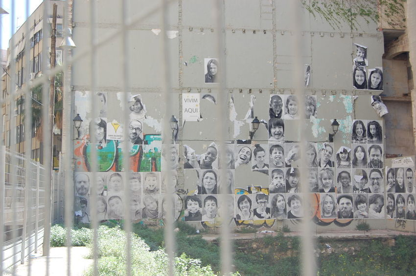 Abundance Barcelona Multi Colored Nikon Nikonphotography People Racism Wall