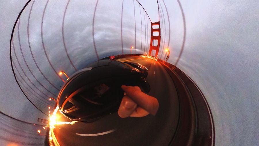 Down the rabbit hole. Golden Gate Bridge San Francisco Bay Area Bridges Bridge Motion 360 Theta360