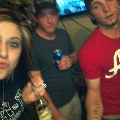 blurry but oh well!!! @holdenpinder an caleb