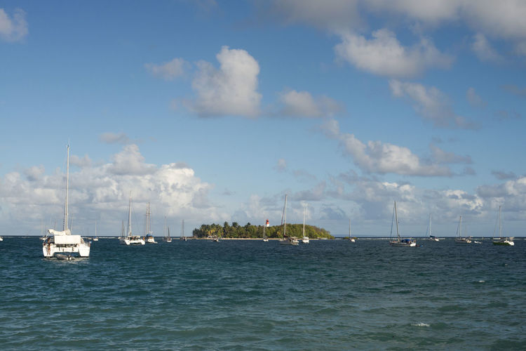Incredible view Beauty In Nature Caribbean Sea Cloud - Sky Day Gosier Guadeloupe Nature Nautical Vessel No People Outdoors Scenics Sea Sky Tourism Tourquise Transportation Travel Water