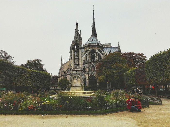 Paris, France  Notre Dame De Paris Travel Built Structure Travel Destinations Architecture