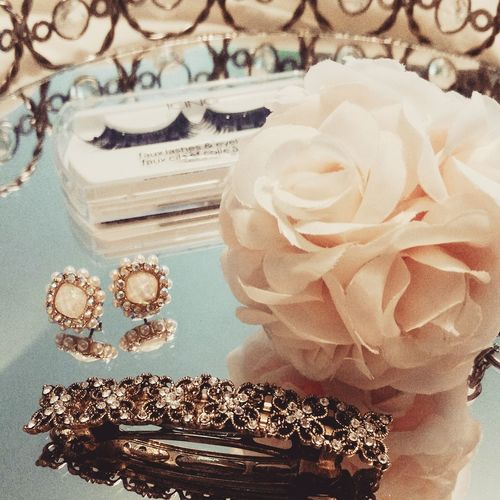 Earrings Jewelry Lashes Key Chain Rosettes Roses Hair Clip Beauty Accesories Fashion Vintage Vintage Inspired Vintage Style