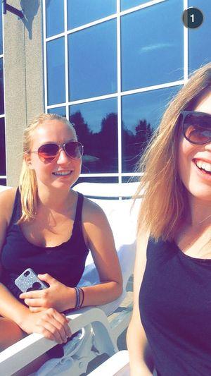Girls Love Fun Smile Selfie Sisters ❤