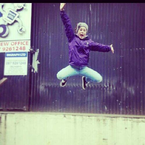 Jumping;)