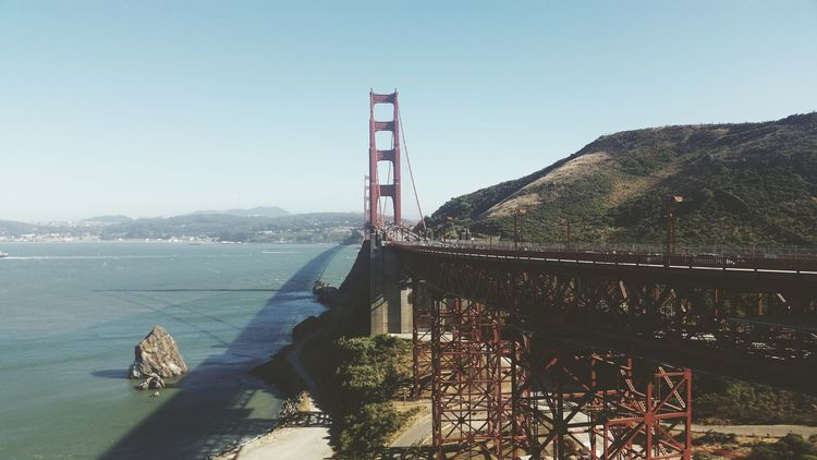San Francisco Golden Gate Bridge Baygirls Hello World Original Beautiful Summer ☀ VSCO Edited SF