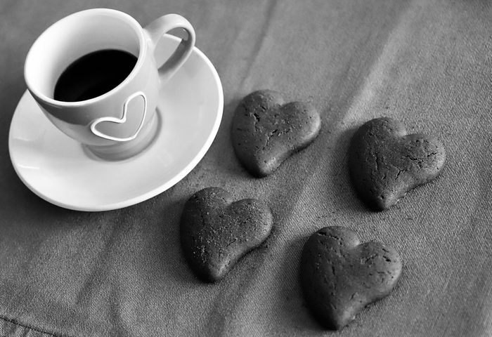Surprise Cup Of Coffee Coffee Cup Coffee Coffee Time Dessert Food And Drink Love Valentine's Day  Biscuit Biscuits Chocolate Cake Chocolate Heart Coffee - Drink Coffee Break Coffee Cup Cookie Food Food And Drink Food Photography Foodphotography Gastronomy Gift Hot Drink Still Life Sweet Food