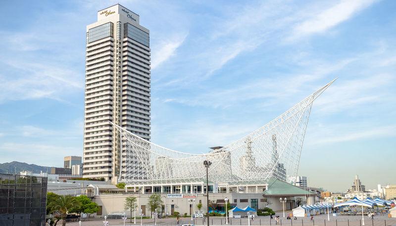 Architecture Building Exterior Built Structure City City Clouds & Sky Harbor Hotel Kobe-shi,Japan Maritime Museum Museum Port Sky