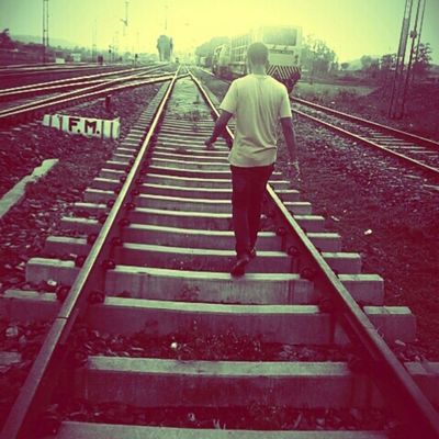 Sometimes it is better to walk alone rather than waiting for someone how will never come Heartbreak