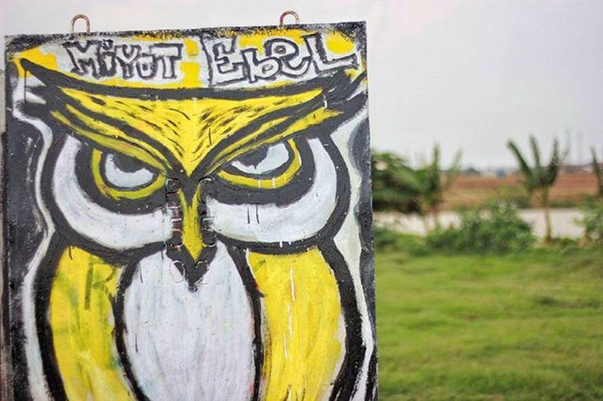 Owl miyot ebel katanya Arteurope ArtWork Artindonesia Artpaint Painteditmyself Paint Bestartistever Lukisan Artword Art Artist Artistic Abstract Abstractart Absurd Art Indonesian Indonesiaart Instaeurope Photooftheday Igers IGDaily Paint Bestartfeatures Praumountain sun landscape grafiti mural