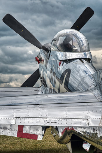 EAA Airventure, Oshkosh 2018 Prop Propeller P51 Mustang Airventure Eaa Aviation Aerobatic Aero Aerospace Warbird Airshow Aircraft Plane Air Vehicle Airplane Sky Cloud - Sky No People Day Aircraft Wing Military Flying Fighter Plane Outdoors