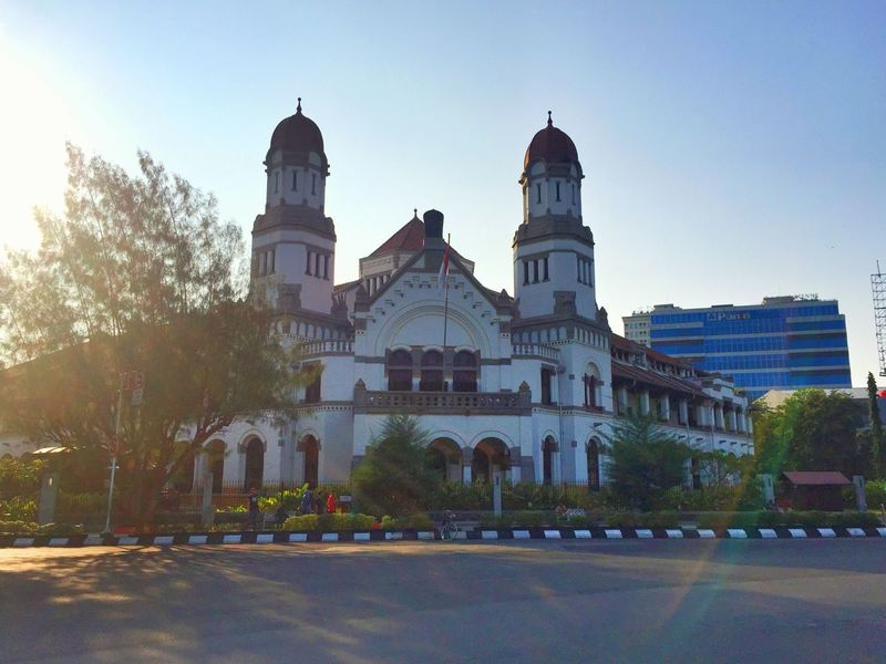 EyeEm Selects lawang sewu Architecture Building Exterior Façade Clear Sky Old Buildings Heritage Semarang IPhoneography