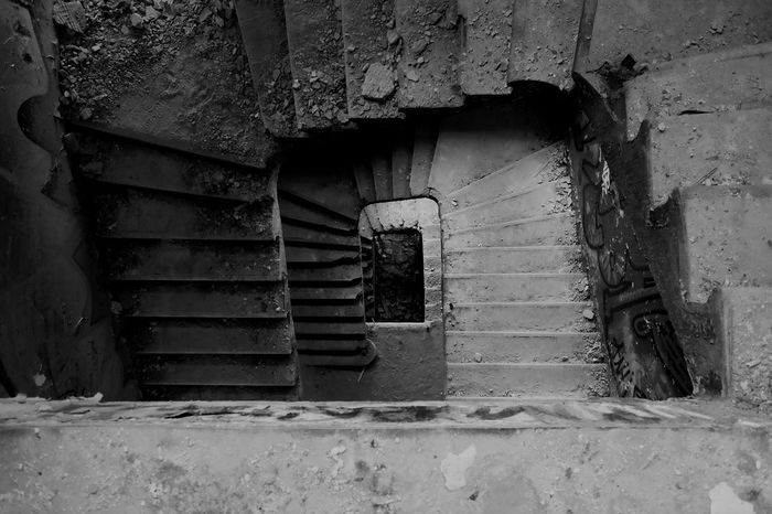 Staircase Spiral Staircase Urban Geometry Eyeem Adventure Kinderkrankenhaus Abandoned Places Staircase Vertigo Open Edit