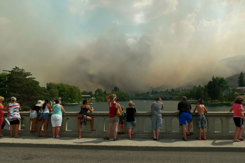 Untold Stories in Chelan. Tourists and locals unite during a Firestorm to support their firefighters. The Photojournalist - 2016 EyeEm AwardsThe Tourist Travel Stories Traveling Devastation The Changing City Wildfire Fire Community Disaster Urban Lifestyle Capture The Moment Smoke Summer Views RePicture Growth Original Experiences People Together Be. Ready.