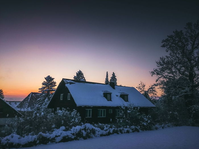 Nature Landscape Nature_collection Sunrise Snow Winter Cold Germany