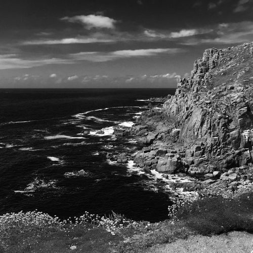 Land's End Cornwall Walks Nature Photography Nature Kernow Cornish Landscape Cornish Coast Rough Sea Rough Water Ocean Rugged Beauty Rugged Rocky Rocks Sea And Sky Sea Cornwall Uk Cornwall LandsEnd Land's End Lands End Cliffside Cliff Cliffs Clifftop