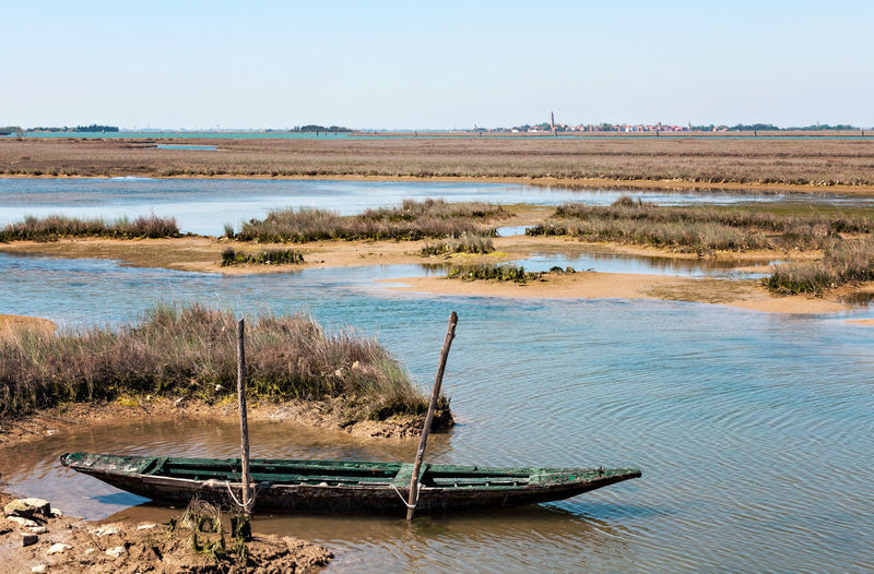Italien Italy Venice Venedig Venezia Lagune Laguna Water Environment Landscape Nature Scenics - Nature Land Tranquility