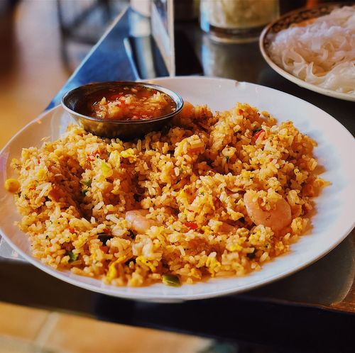 Cơm Chiên Nước Mắm Vietnamese Food Food Food And Drink Ready-to-eat Rice - Food Staple Freshness Plate Serving Size Fried Rice