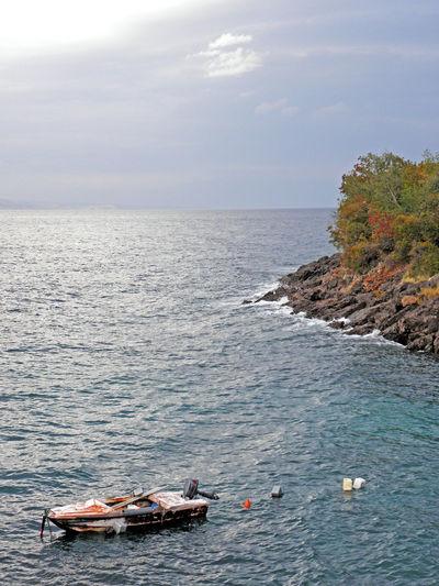 Kalic bay,Adriatic coast,Croatia,Europe,5 Adriatic Coast Adriatic Sea Bay Day Jurjevo Kalic Nature No People Outdoors Sea Seaside Senj Sv.Juraj Tourism Tranquility Water