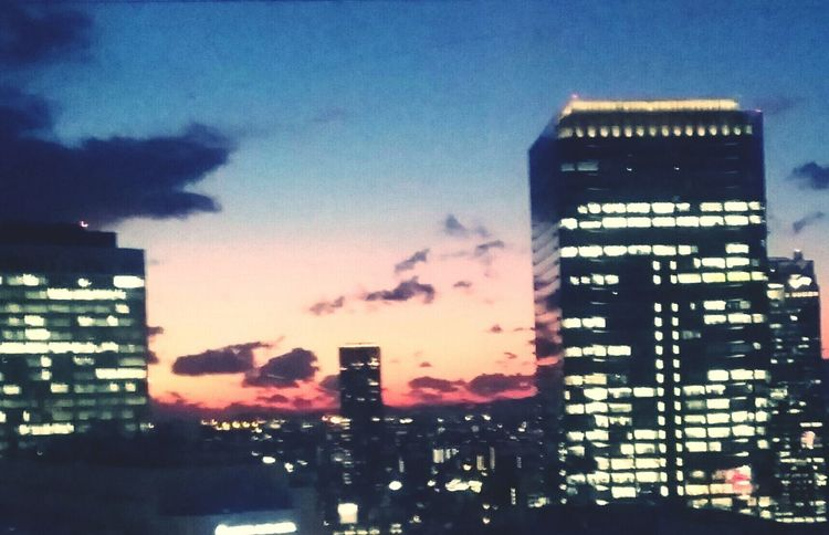 Sunset HEP FIVE Ferris Wheel Nightview Skyscrapers Learn & Shoot: After Dark