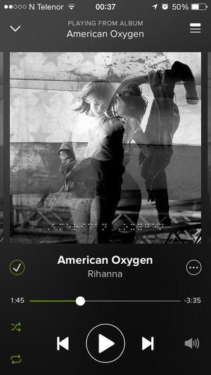 mood. American Oxygen Rihanna