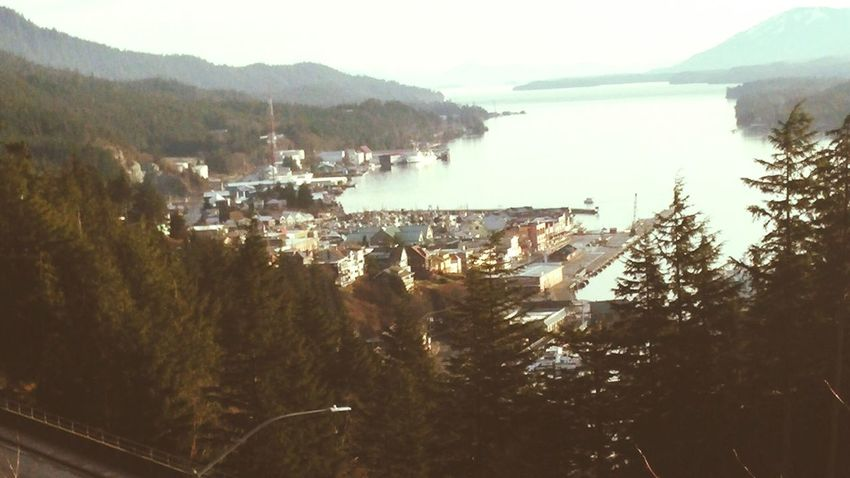 Downtown KetchikanAlaska Spectacular View Check This Out Happy Thanksgiving!! Woohoo! On Top Of The World