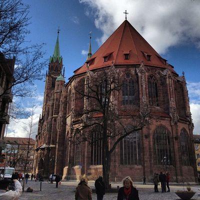 Downtown Nürnberg Church Whereschesa