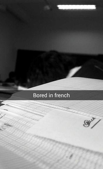 Bored Frenchclass Fuckschool Photooftheday