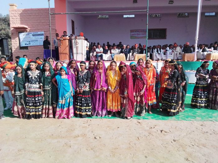 Rajasthan Traditional attires Folk Culture Multi Colored Arts Culture And Entertainment Culture And Tradition Culture Of India Rajasthani Culture Day Outdoors
