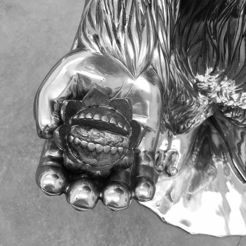 Close-up Mouse Art Toy Culture Alexface Blackandwhite