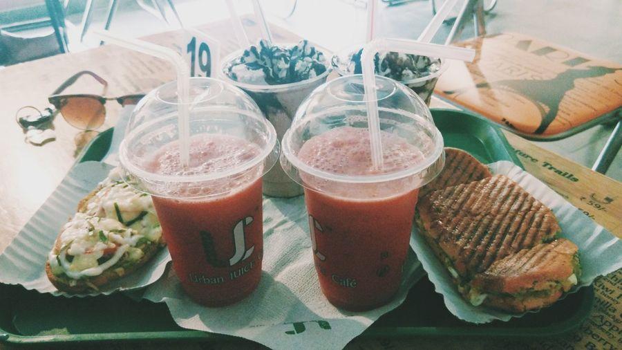Juice Food Ujc Bombay Foodie