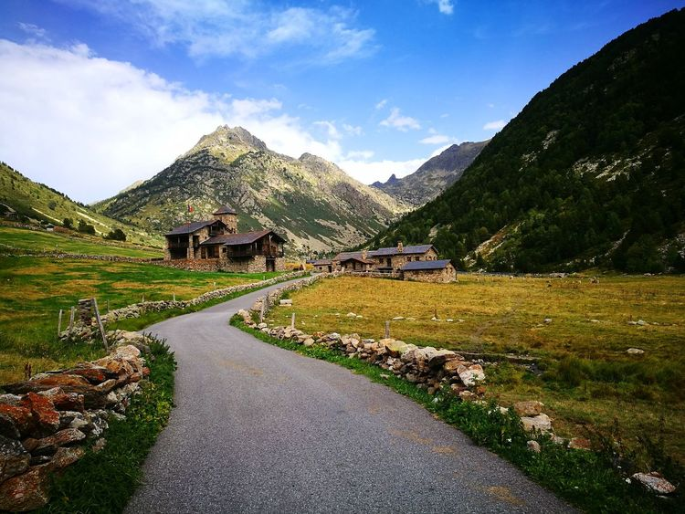 Mountain Landscape Outdoors Road Nature Beauty In Nature Andorra🇦🇩 No People Lost In The Landscape Perspectives On Nature