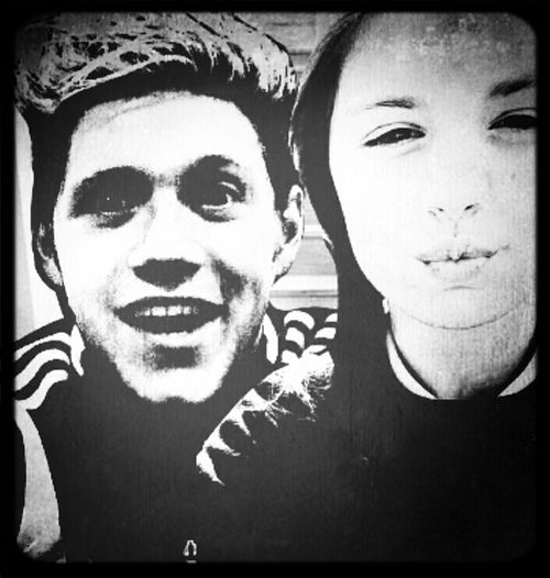 with my babe Niall horan